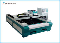 Chiny Fiber Laser Metal Cutting Machine 1500*3000 mm Water Cooling 500w  1000w firma