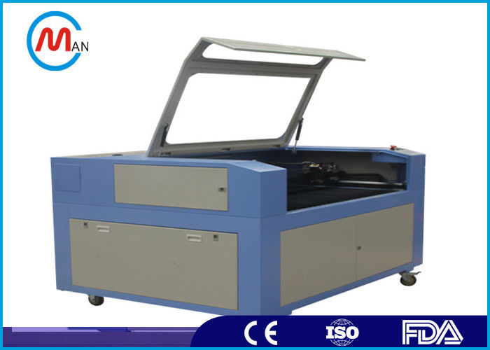 Computer Controlled Fiber Laser Engraving Machine 400 x 300mm Working Area