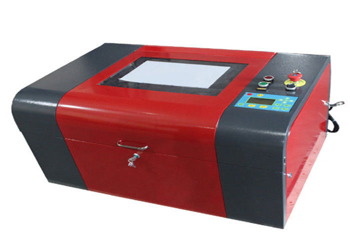 Glass / Leather / Plastic CO2 Laser Cutting Machine ±0.1mm Repositioning