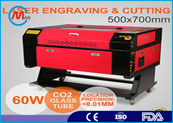 Water Chiller 30W CO2 Laser Engraving Machine High Speed Differential Input