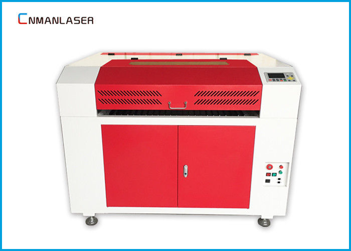 DSP Control Co2 Fabric Laser Cutting Machine 6090 With 100w RECI Laser Tube