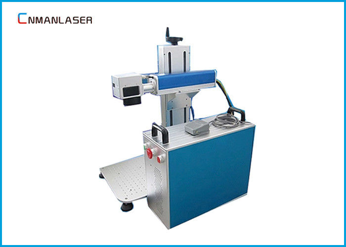 Split Type 30w 50w Watches Laser Marking Machine On Metal 110*110mm