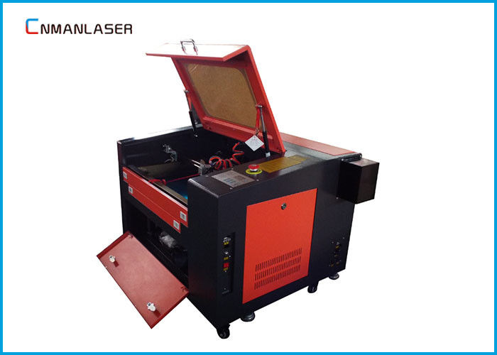 60*40cm USB Port 60w 80w Nonmetal 6040 CO2 Laser Cutting Machine With Warranty 2 Years