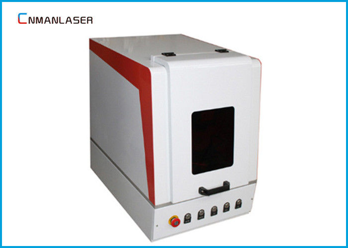 High Speed Air Cooling Mini Small Fiber Laser Engraving Machine With Red Pointer