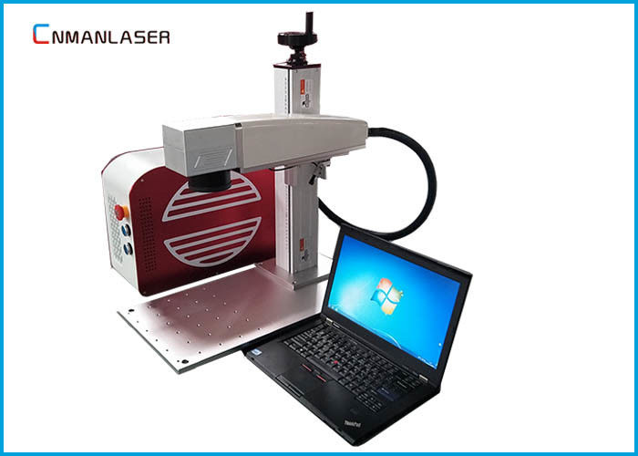 20 W Small Fiber Laser Marking Machine With 110*110mm Working Area Sino Galvo Head